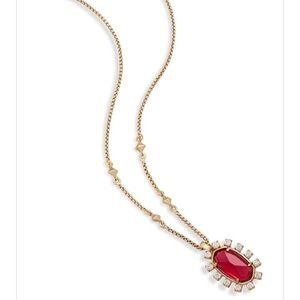 Kendra Scott Brett Berry Glass Necklace {NWT